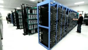 Крупный дата центр