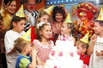 организованный детский праздник