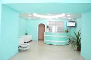 приемная частной клиники