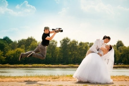 Съемка зеркальным аппаратом свадьб как бизнес