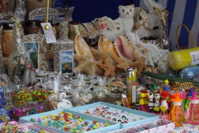 торговля сувенирами - летний бизнес