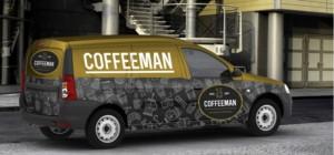 Мобильная кофейня на колесах на базе Lada Largus
