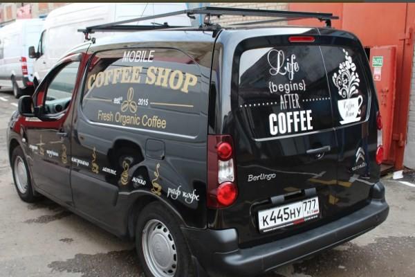 Мобильная кофейня на базе Ситроен Берлинго